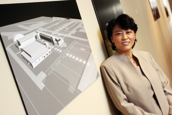 Lisa Huang, President of Advanced Engineering Consultants in Columbus. Photos | Ben French