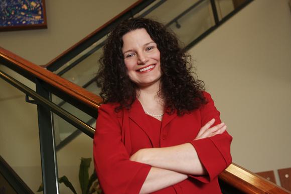 Jennifer Simon, Director of the Ohio University Innovation Center.  Photos   Ben French