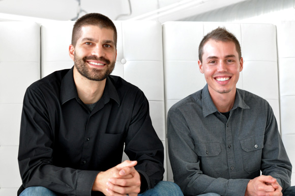 Founders of Acceptd, Don Hunter (left) and Derek Brown. Photos submitted