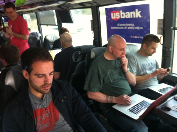 Startup Bus. Photos Submitted
