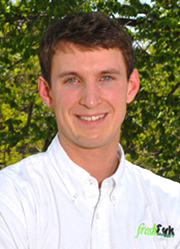 Travor Clatterbuck of Fresh Fork Market