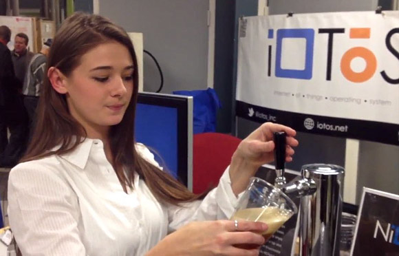 NiOTap� - Smartphone App Controlled Beer Tap System by iOTOS